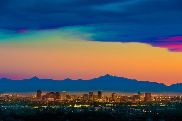 More than 35% of people searching Redfin.com for homes in Phoenix in April and May were out-of-towners.